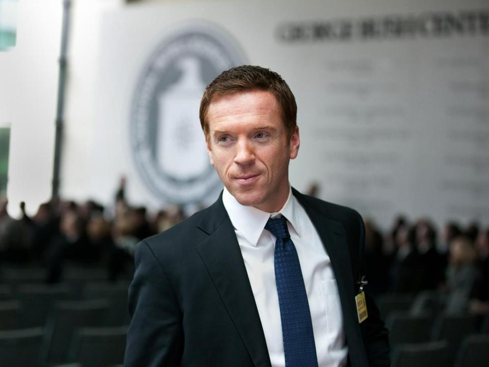 "Damian Lewis in ""Homeland."""