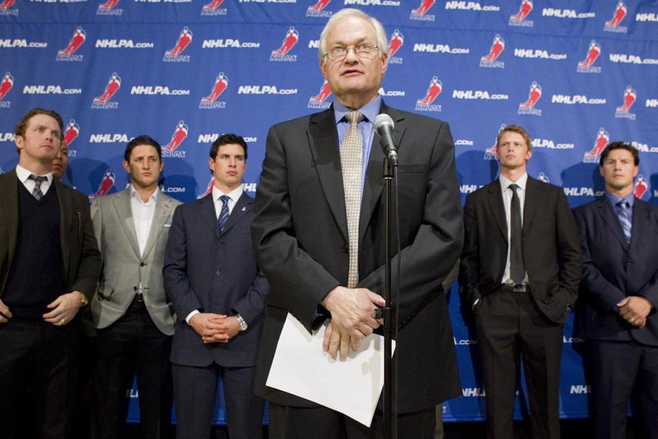 Emphasizing communication, Donald Fehr has been front and center in leading the NHL players' association.