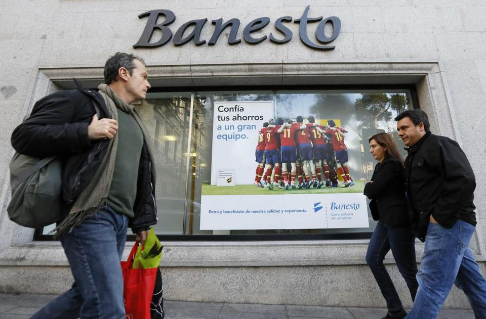 Santander owns 90 percent of Banesto, once a top Spanish bank. In the United States, it owns Sovereign.