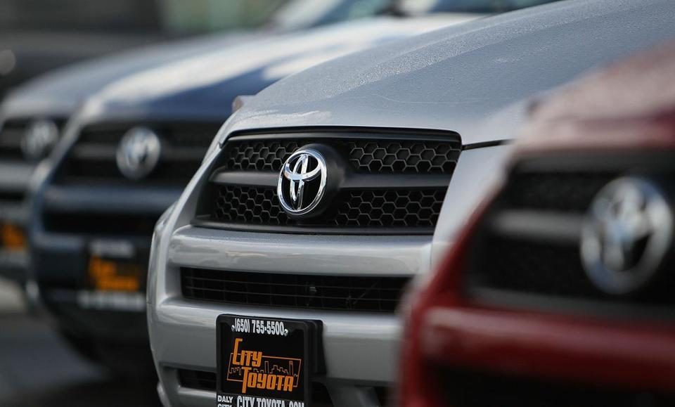 Toyota agreed to pay the fine but did not admit violating the law.