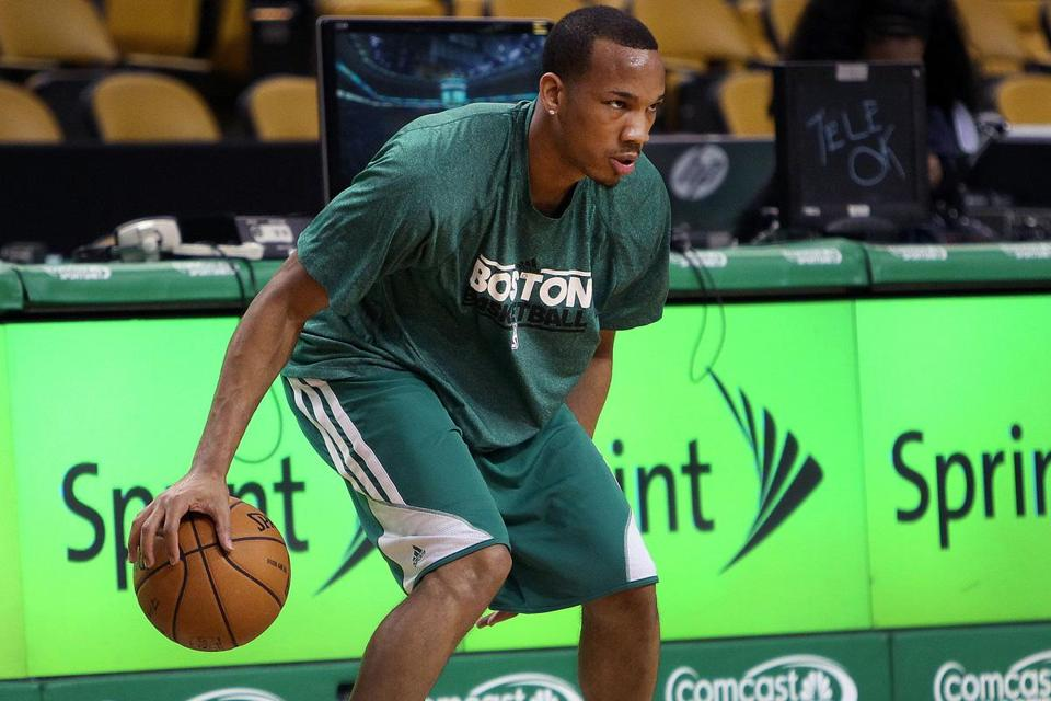Avery Bradley is back practicing after rehabbing from a pair of shoulder surgeries.
