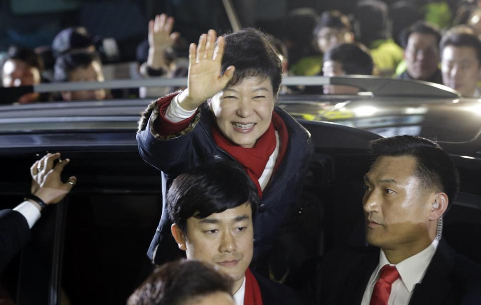 Park Geun-hye won the presidential race with 51.6 percent of the vote.