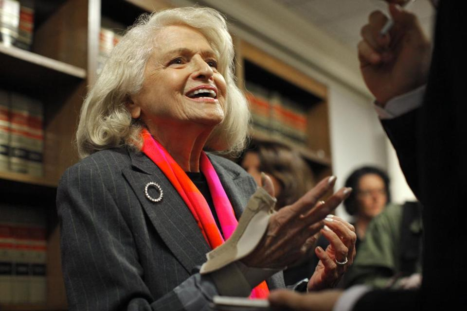 Edith Windsor is at the center of a challenge to the Defense of Marriage Act before the Supreme Court.