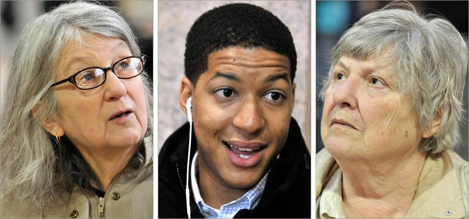 The prospect of another election in Massachusetts drew mixed reactions from Pam McCarron of Boston, Edson Silva of Brockton, and Joan Phelan of Canton.