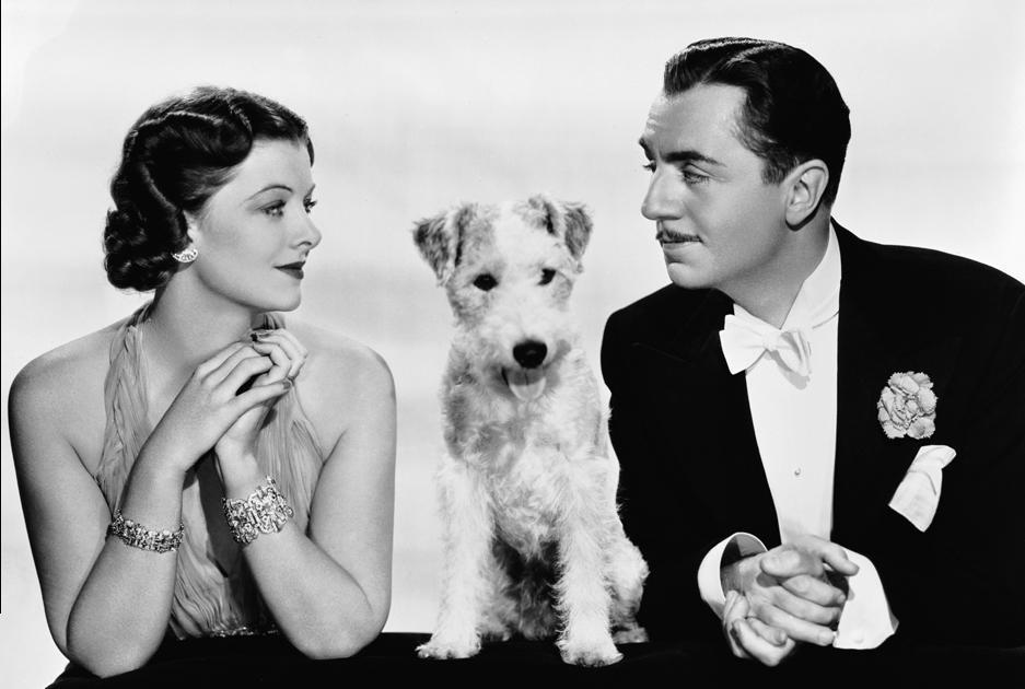 "The Brattle will show ""The Thin Man"" (with Myrna Loy and William Powell) twice Dec. 31."