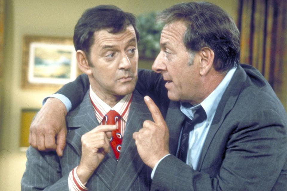 "Jack Klugman (right) won two Emmys for his role in ""The Odd Couple,'' where he played opposite his friend Tony Randall."