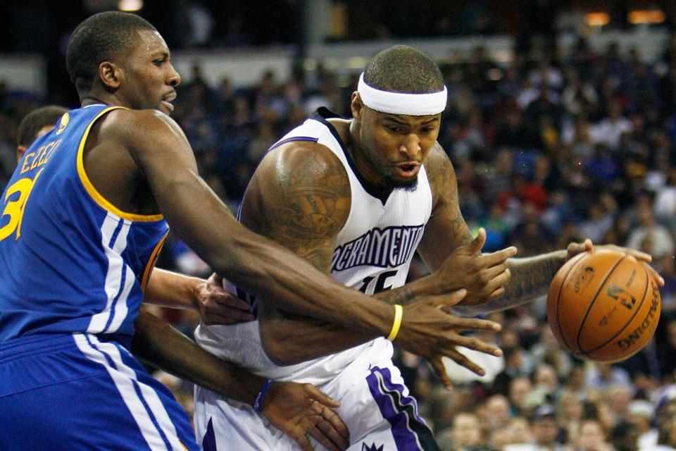 Center DeMarcus Cousins practiced with the Kings on Monday.
