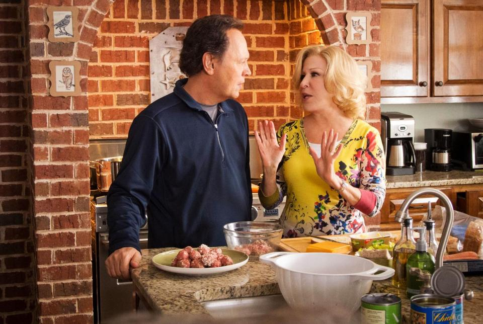 "Billy Crystal and Bette Midler in ""Parental Guidance.''"