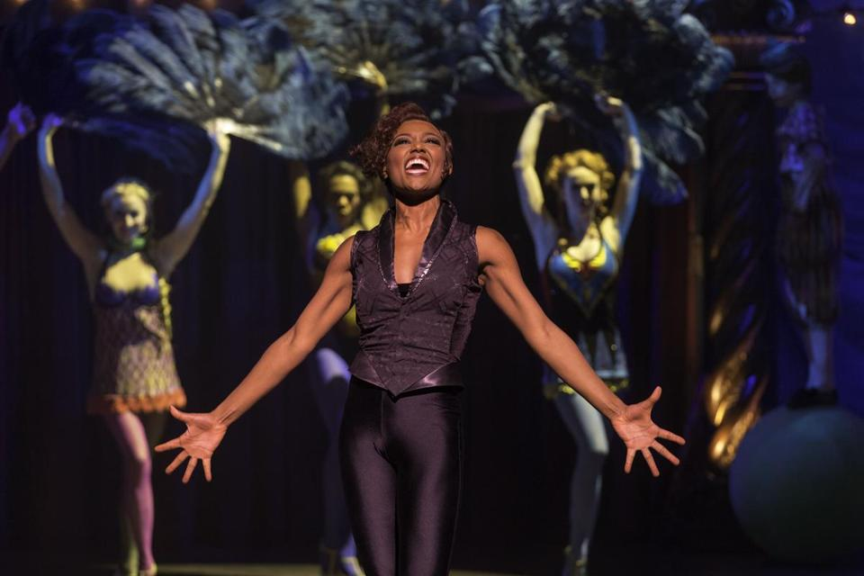 "Patina Miller in the ART's production of ""Pippin."""