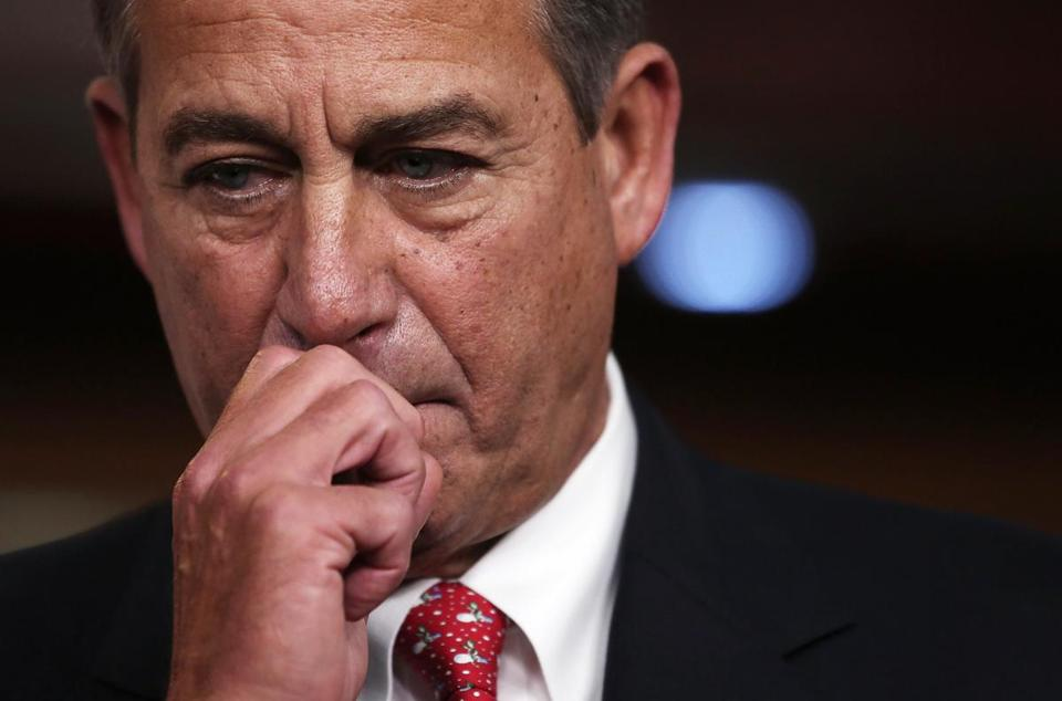 House Speaker John Boehner has felt resistance from members of his own party.
