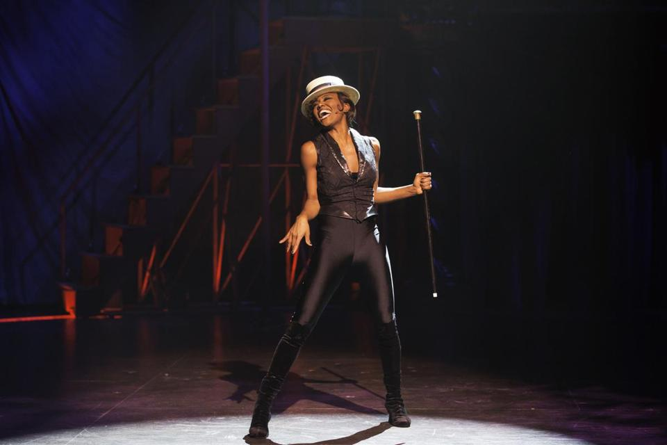 "Patina Miller in the American Repertory Theater's production of ""Pippin."""