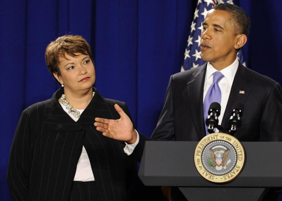 Lisa Jackson was the Environmental Protection Agency's first black administrator.