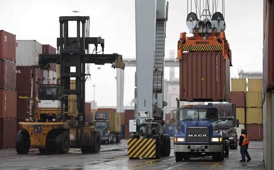 Boston's port would have been affected by a threatened strike, which has been postponed.