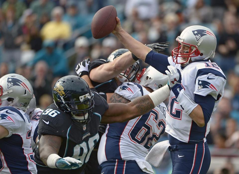 Tom Brady and the Patriots got off to a lackluster start last Sunday against the Jaguars, who came in hungry despite their poor record.