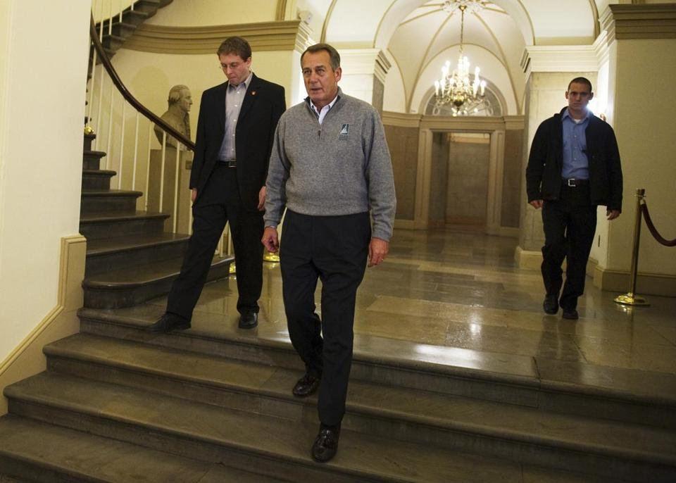 House Speaker John Boehner has called representatives back into Washington on Sunday in case a deal is made.