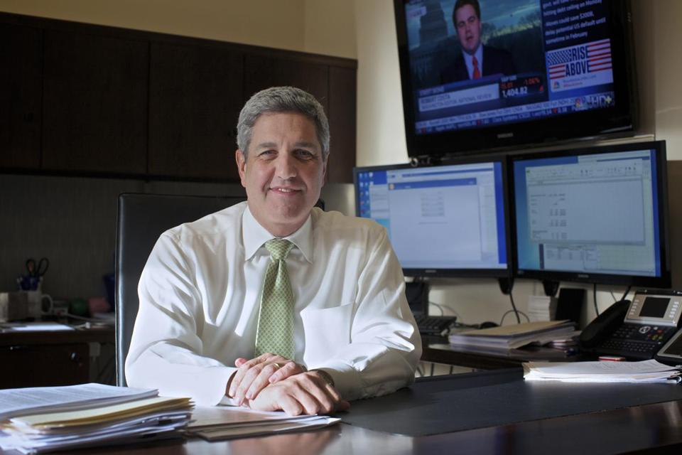 Frank Sorrentino, of North Jersey Community Bank, is prepared for changes in the FDIC's deposit insurance.