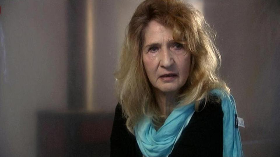 "From the documentary ""Hitler's Children"": Monika Goeth, whose father ran Plaszow Concentration Camp."