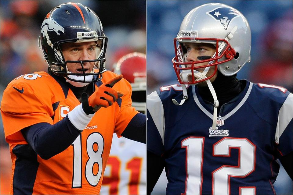 Peyton Manning and Tom Brady could face each other again in the AFC Championship game.
