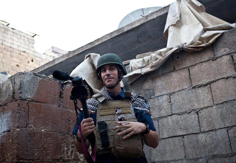 James Foley, who was captured in Libya in 2011, had been filing reports and videos from Syria until six weeks ago.