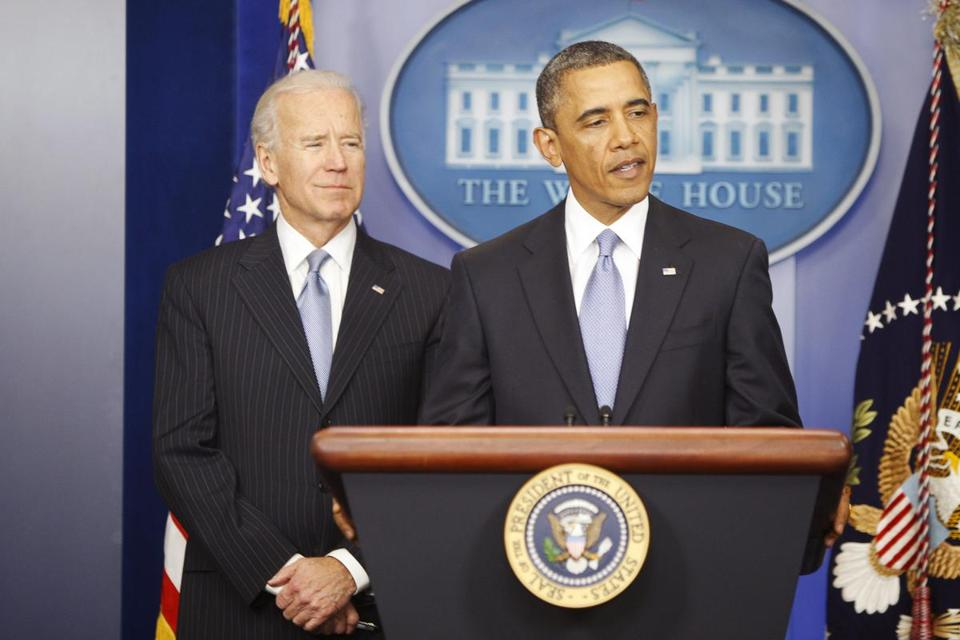 "President Barack Obama spoke after the House of Representatives passed legislation intended to avoid the ""fiscal cliff."
