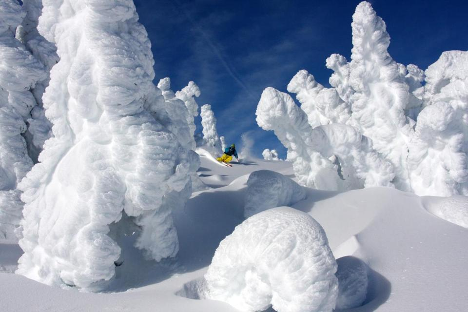 Mount Washington Alpine Resort on Vancouver Island, BC is known for often having the deepest snow pack of any ski resort on the planet.