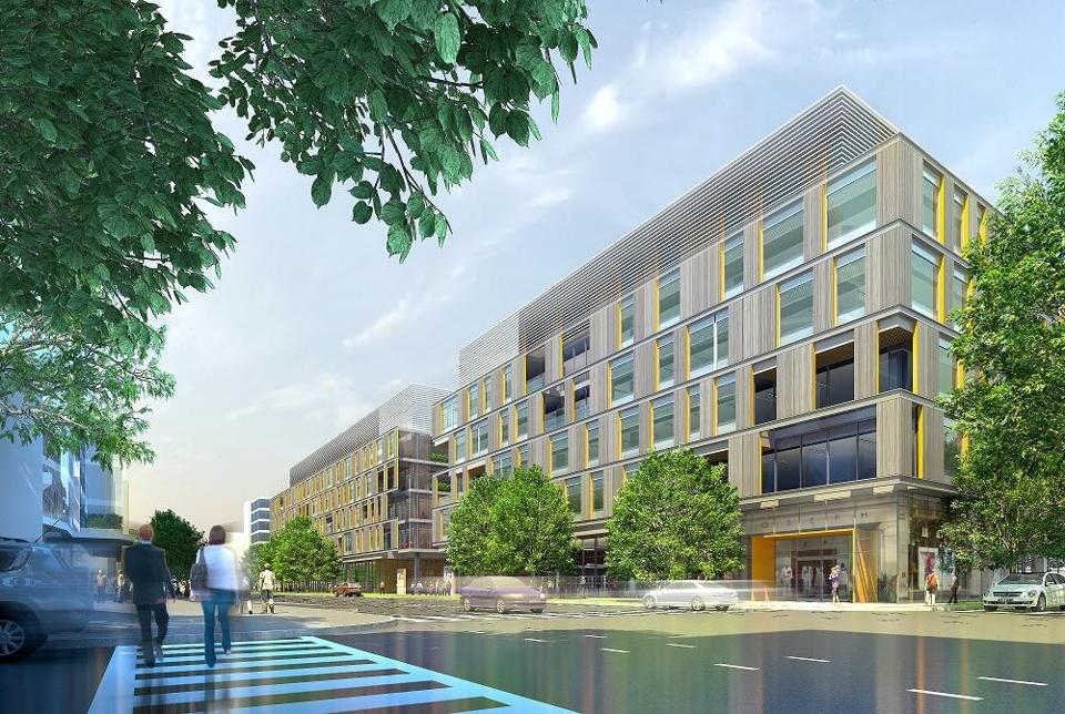 Ariad Pharmaceuticals will occupy the majority of two new laboratory and office buildings to be built in Kendall Square.