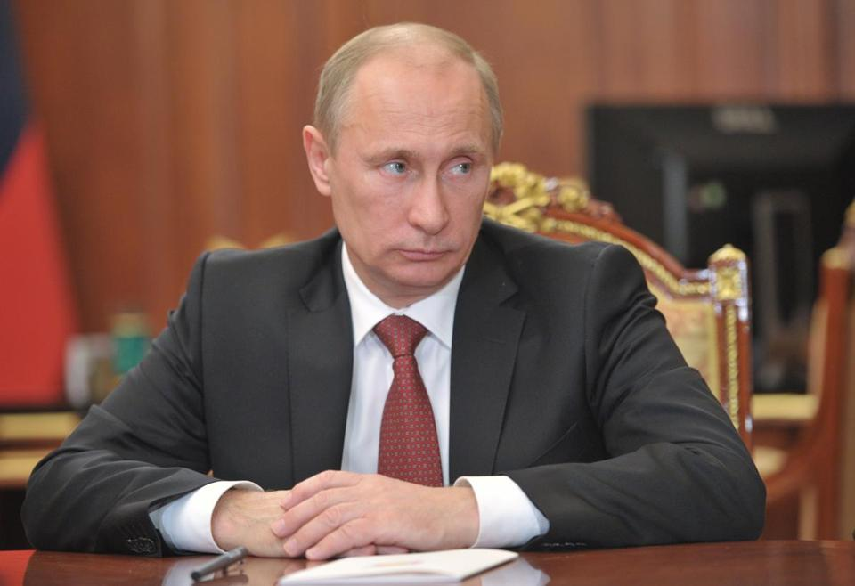 Russian President Vladimir Putin banned adoption of Russian children by Americans.