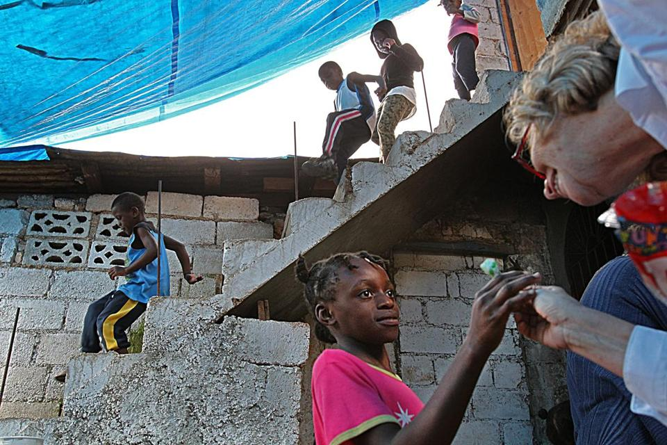 Alliance for Children Foundation director Filis Casey visited the old site in Haiti last May.