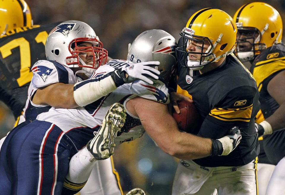 The Patriots neutralized Ben Roethlisberger for much of the game.