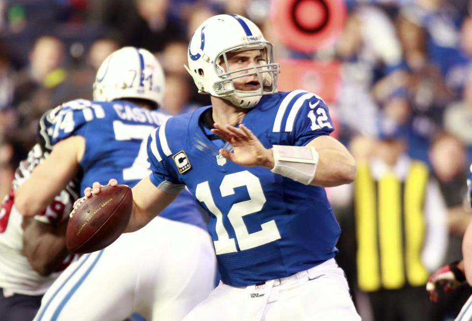 Rookie Andrew Luck, the first overall pick, has been pretty spectacular this season, throwing for 4,374 yards and 23 TDs.