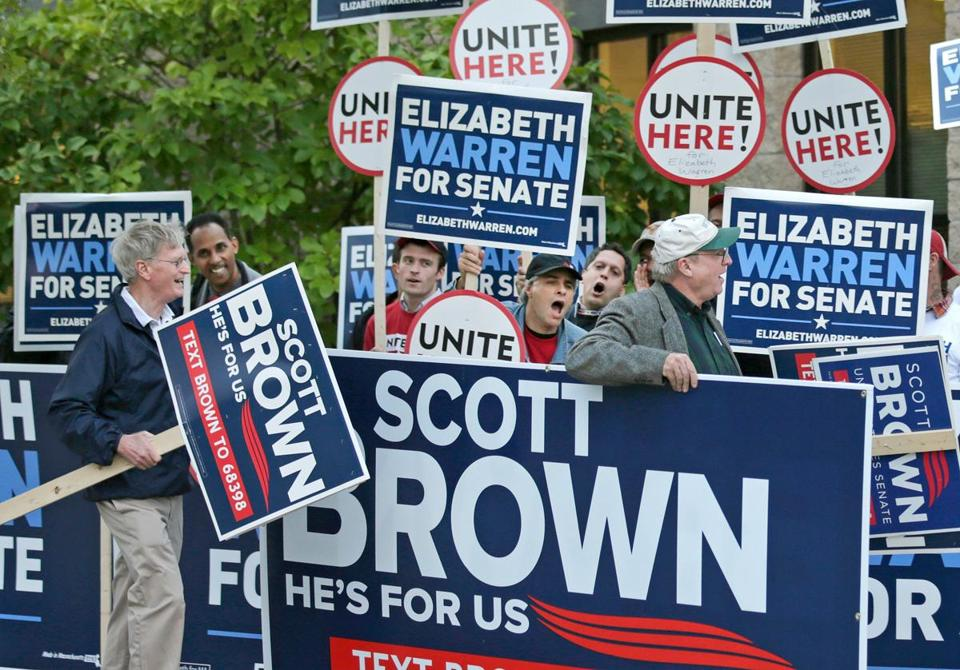 The Brown and Warren campaigns spent about $80 million combined on the race.
