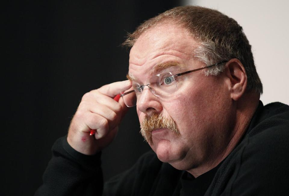 In 14 years with the Eagles, Andy Reid won 58.5 percent of his games in the regular season and six division titles.