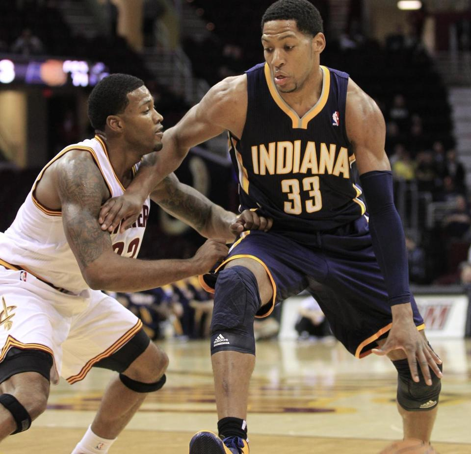 Danny Granger is the closest thing Indiana has had to an All-Star since Reggie Miller.