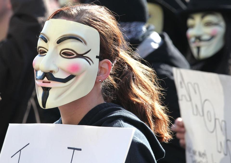 Anonymous, whose members often wear Guy Fawkes masks, has taken on the Steubenville, Ohio, rape controversy.