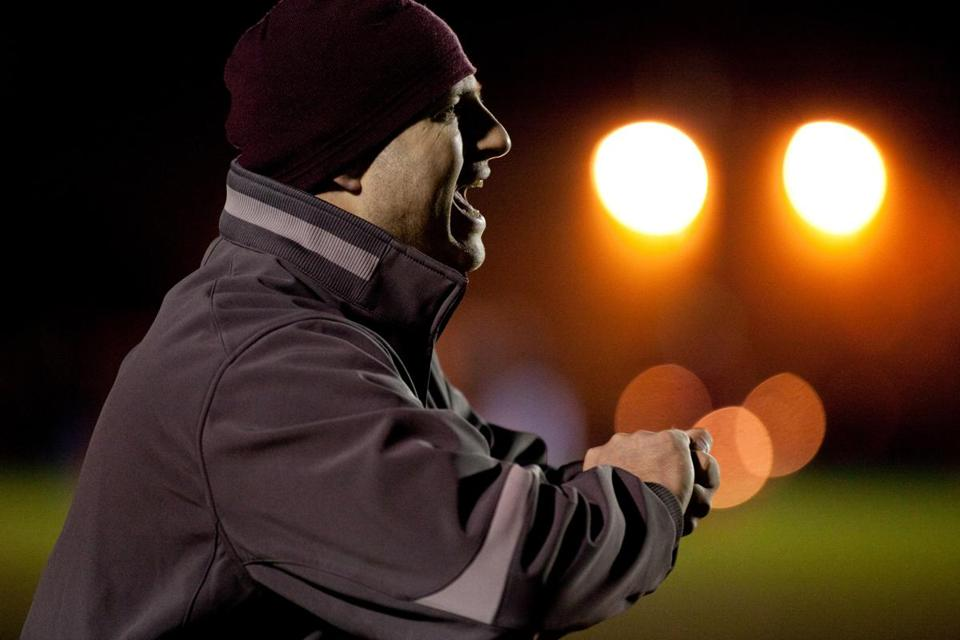 Westford Academy Head Coach Rich McKenna is stepping down to take over the head coach position at his alma mater.