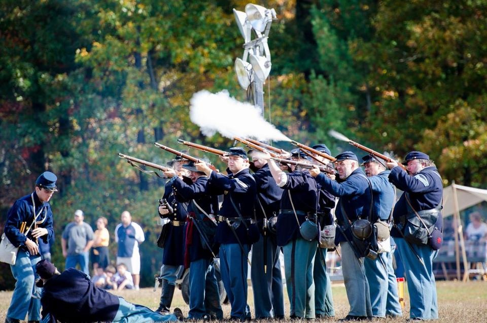 Last year's events included a Civil War encampment, a parade, and fireworks.