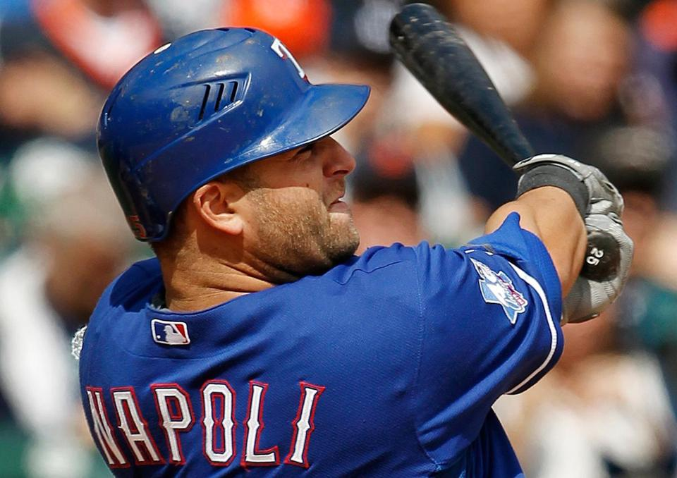 Mike Napoli agreed to terms on a three-year, $39 million deal Dec. 3. But an issue — believed to be a preexisting hip injury — was detected during Napoli's physical Dec. 7.
