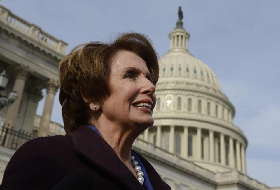 Representative Nancy Pelosi is beginning her second term as House minority leader.