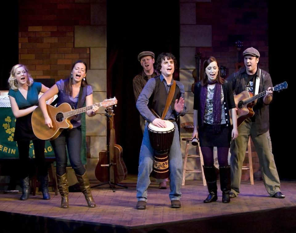 A musical revue penned by Angela's Ashes author Frank McCourt, opens Thursday at the Davis Square Theatre in Somerville