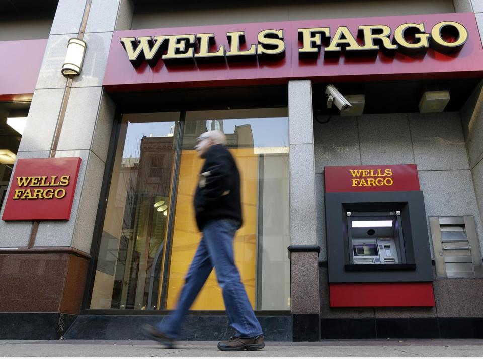 Much of the revenue gains in the quarter stemmed from Wells Fargo's consumer lending business.