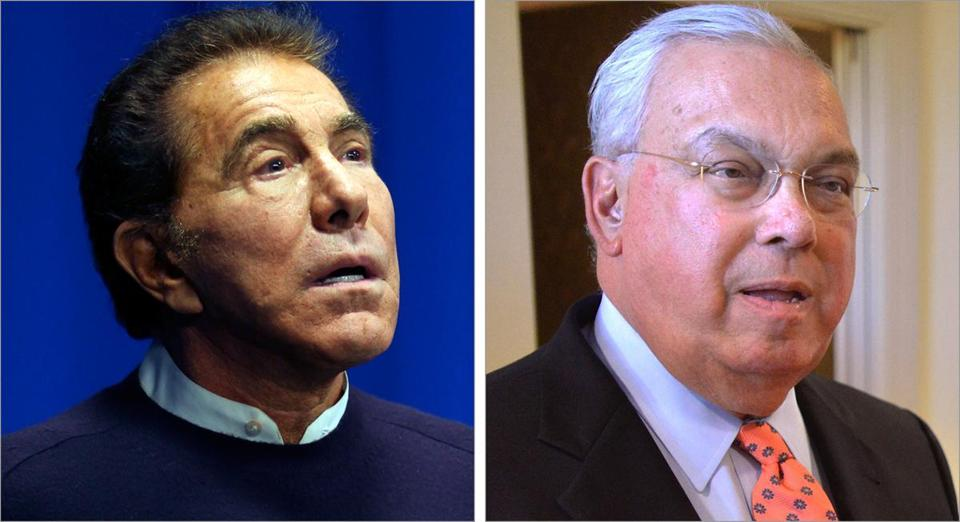 Mayor Thomas Menino said he would like Steve Wynn's people to contact him about their proposal for Everett.