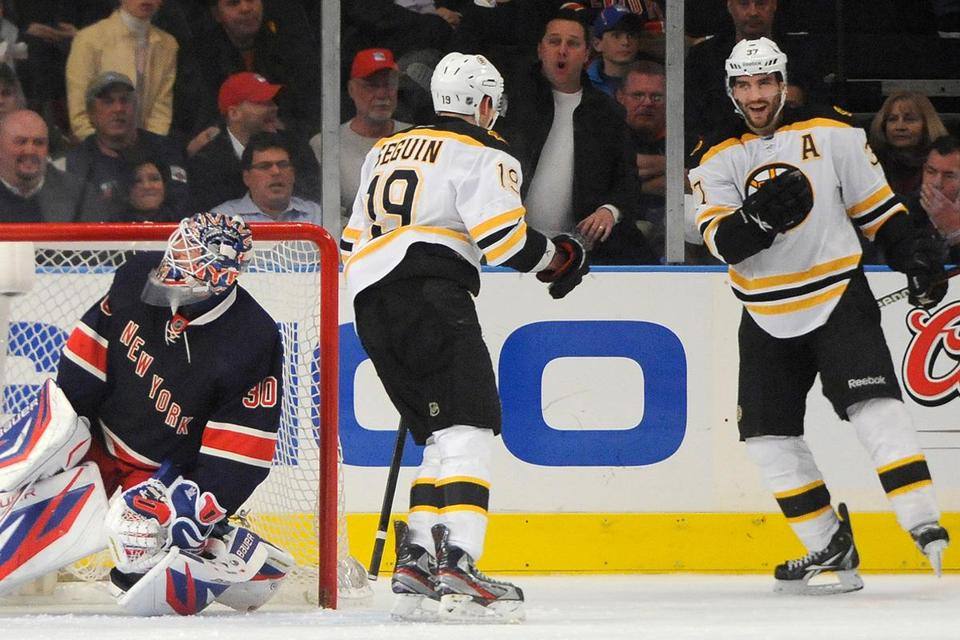 The Bruins will open the season Saturday at TD Garden, facing old Original Six rival New York at 7 p.m. on Causeway Street.