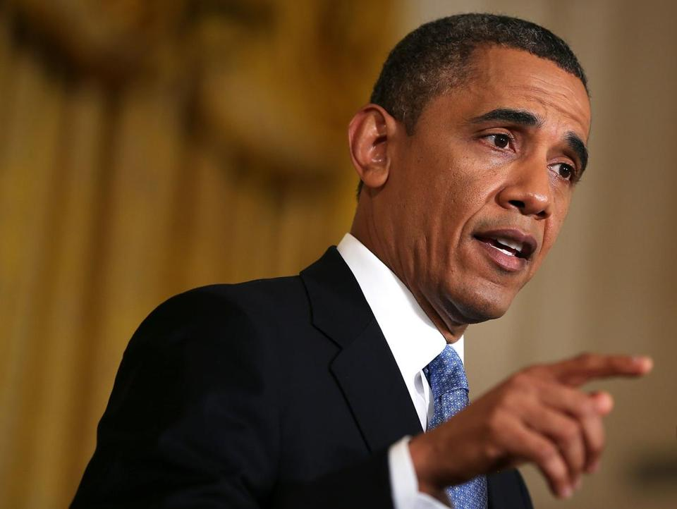 """The full faith and credit of the United States of America is not a bargaining chip,"" President Obama said."