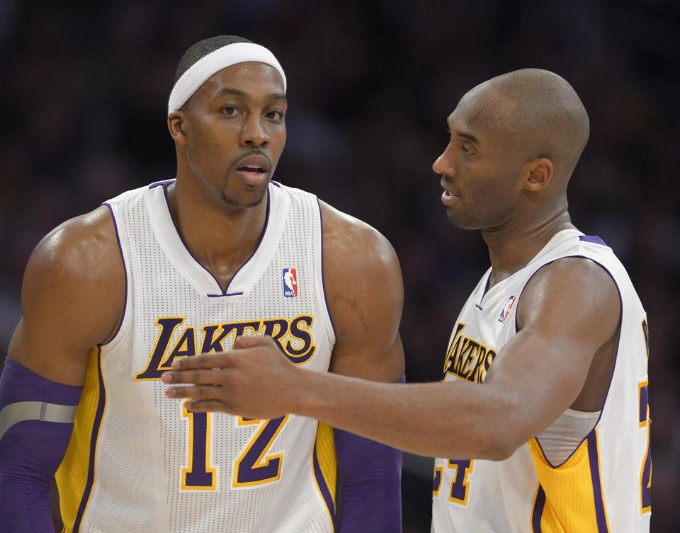 Dwight Howard had 22 points and 14 rebounds while Kobe Bryant scored 23 points for the Lakers.