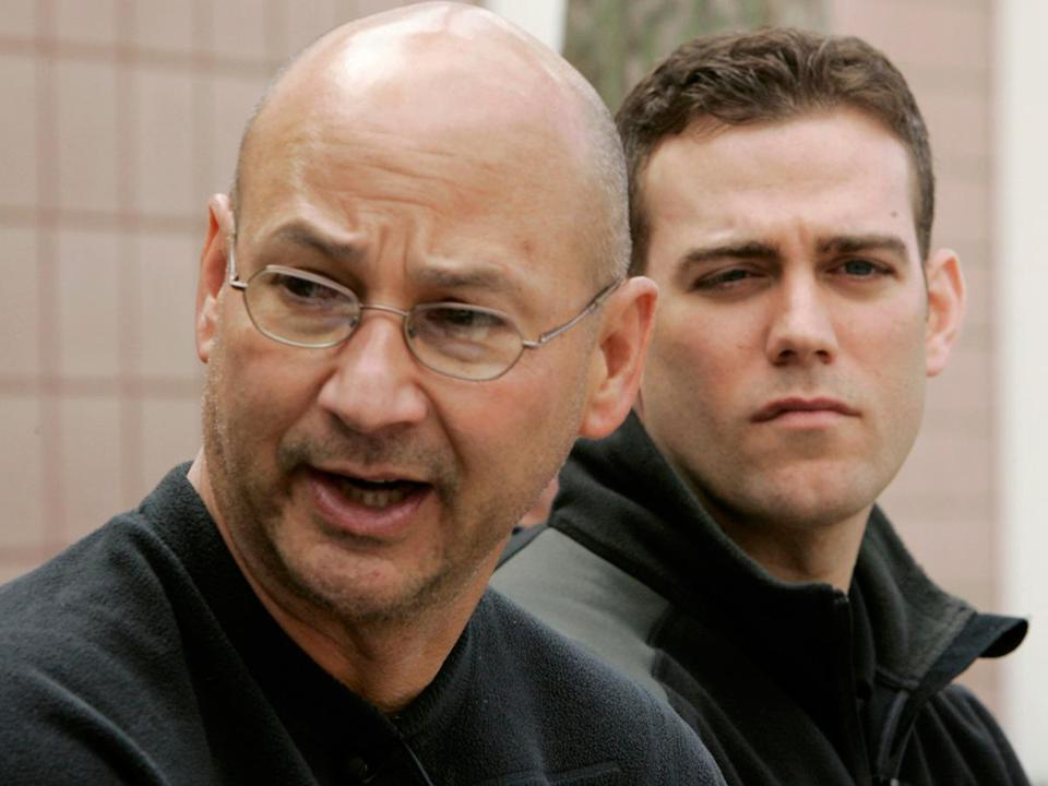 Terry Francona with Theo Epstein in their last title year.
