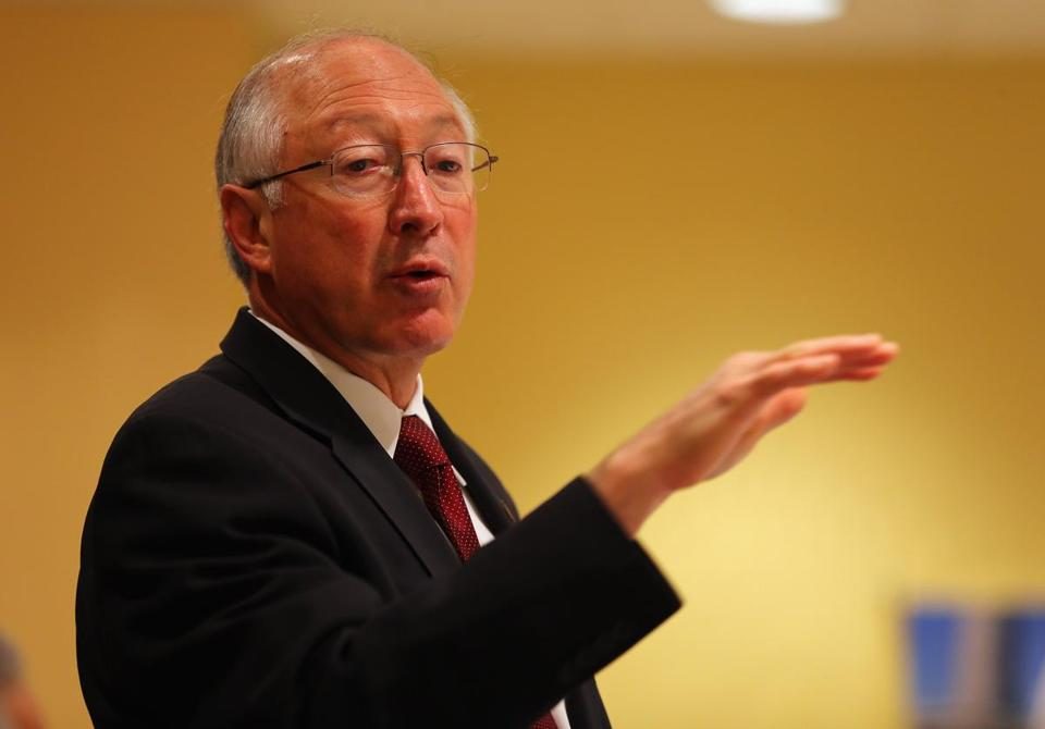 Ken Salazar has run the Interior Department throughout President Barack Obama's first term.