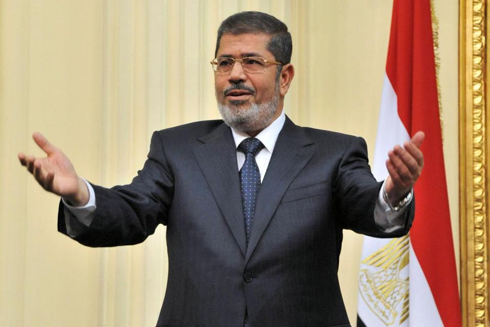 The White House and State Department said President Mohammed Morsi's statements were ''deeply offensive'' and ran counter to the goal of peace in the region.