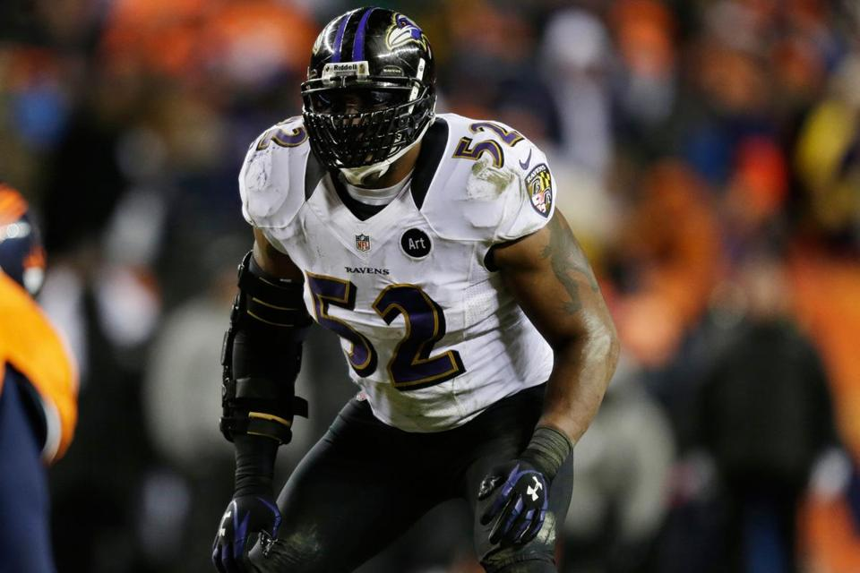 Ray Lewis and the Ravens defense have played 188 snaps defensively the past two games.
