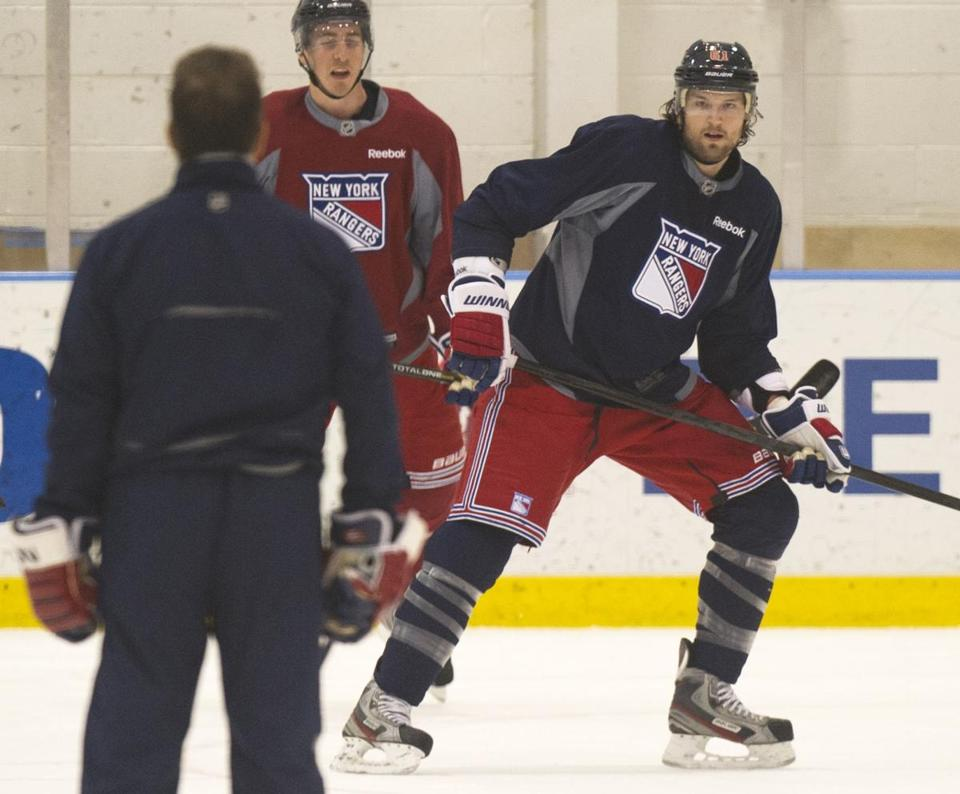 Rick Nash adds more depth to the New York Rangers.