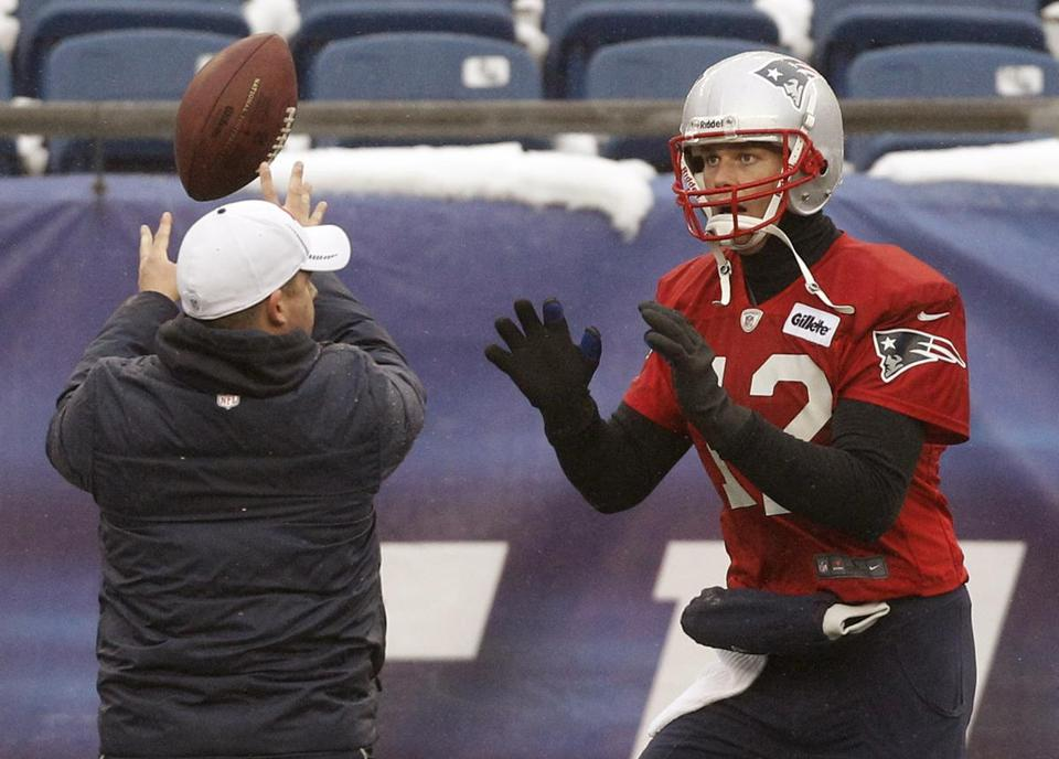 Tom Brady will be playing in his seventh AFC title game.